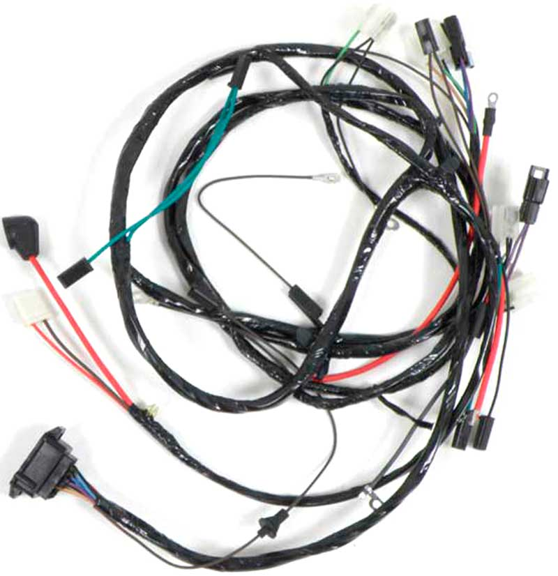 10123 Mustang Painless Wiring Harness Ford Universal 14circuit 1966