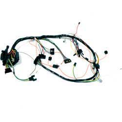 1966 impala parts electrical and wiring wiring and connectors 1966 impala full size floor shift auto trans and ac underdash wiring harness