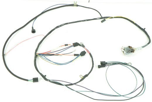 1966 impala parts electrical and wiring classic industries 1966 impala full size 396 427ci v8 ac except comfortron ac and warning lamps engine harness