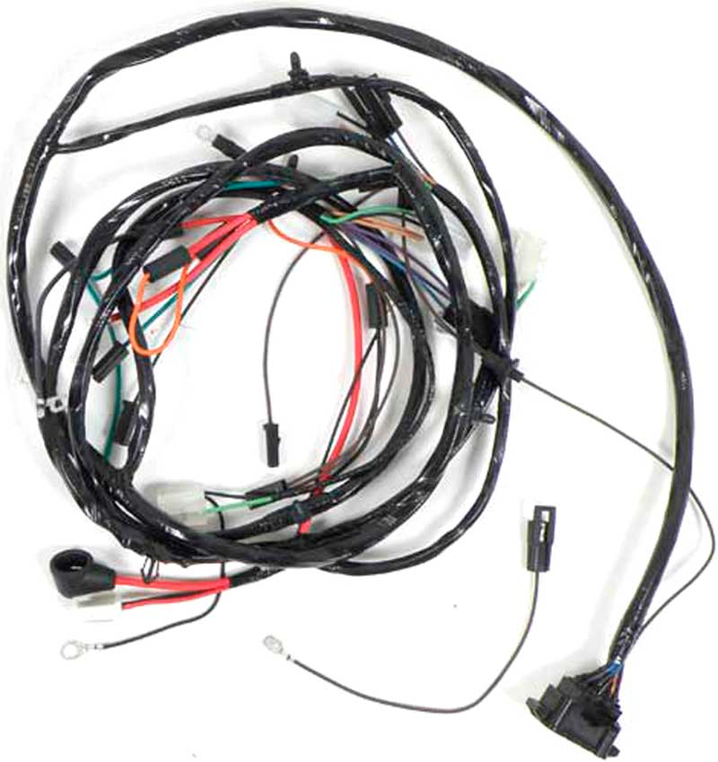 1967 chevrolet impala parts | electrical and wiring ... impala engine wiring harness