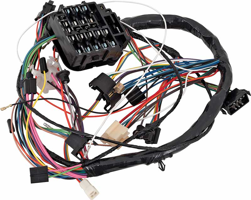 1968 Impala Parts   Electrical and Wiring   Wiring and ...