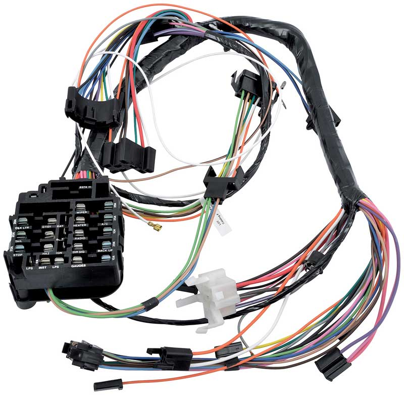 1968 chevrolet impala parts electrical and wiring wiring and 68 Mustang Wiring Harness 68 impala wiring harness