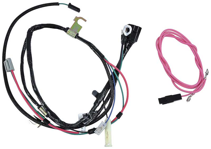 gm truck parts electrical and wiring wiring and connectors 1961 chevrolet pickup v8 engine wiring harness hei
