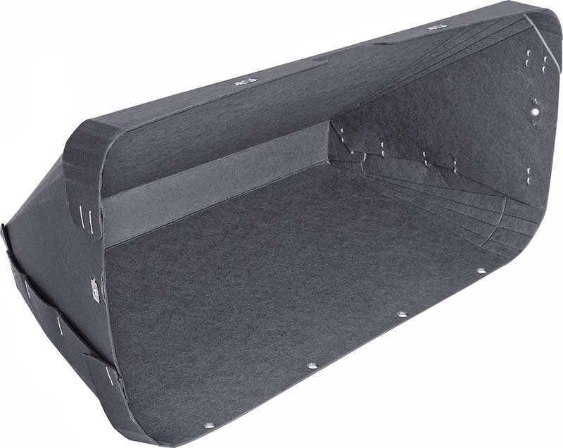 GLOVE BOX LINER w A-C 1964 1965 1966 CHEVROLET CHEVY TRUCK