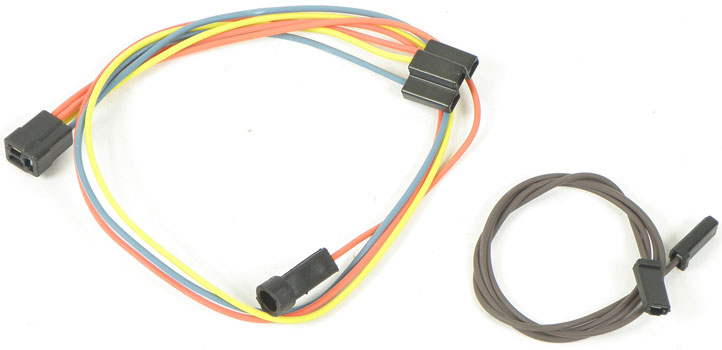 gm truck parts electrical and wiring classic industries 64 66 truck 2 speed heater harness standard heater out ac