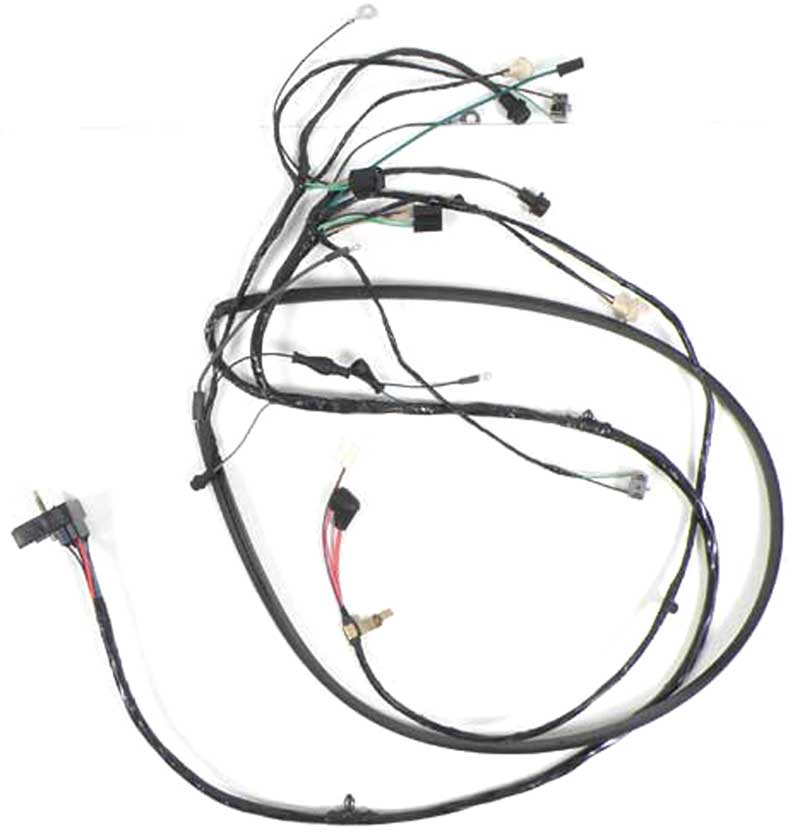 1969 chevrolet truck parts electrical and wiring wiring and Fog Light Wiring Harness product ct22535di