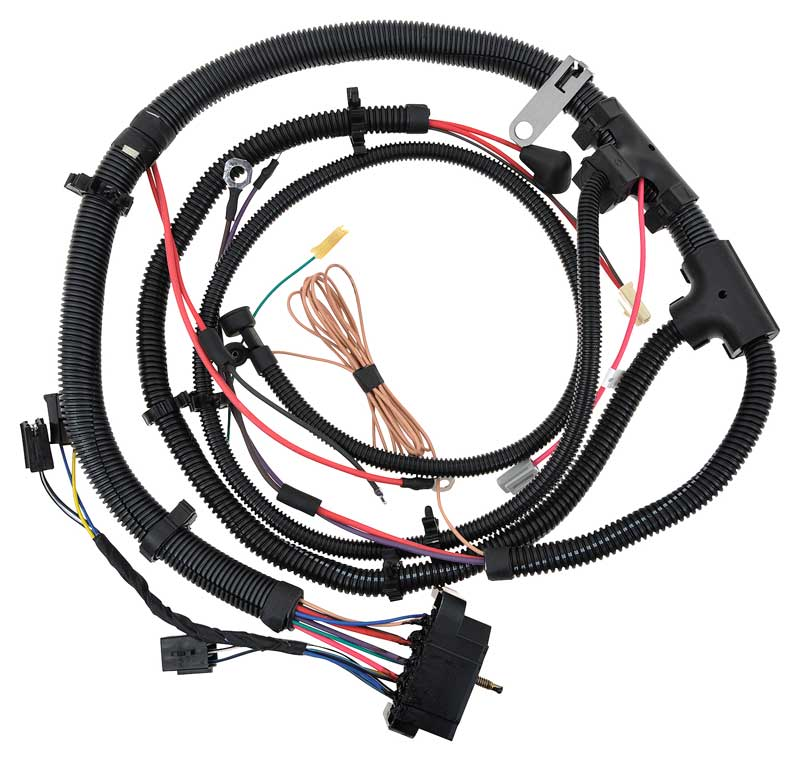 gm truck parts electrical and wiring classic industries 1978 gm pickup truck v8 engine wiring harness