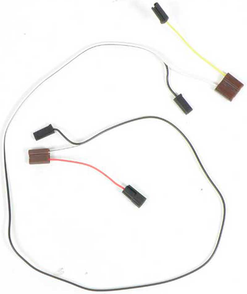 1962 wiper motor harness (2 speed with washer)