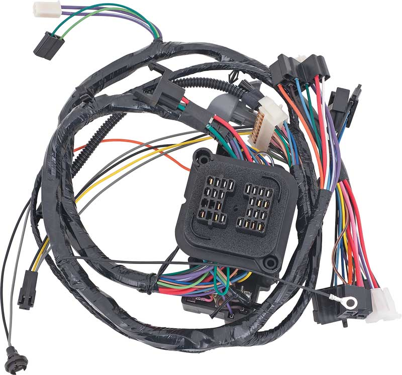 gm truck parts electrical and wiring wiring and connectors harnesses classic industries