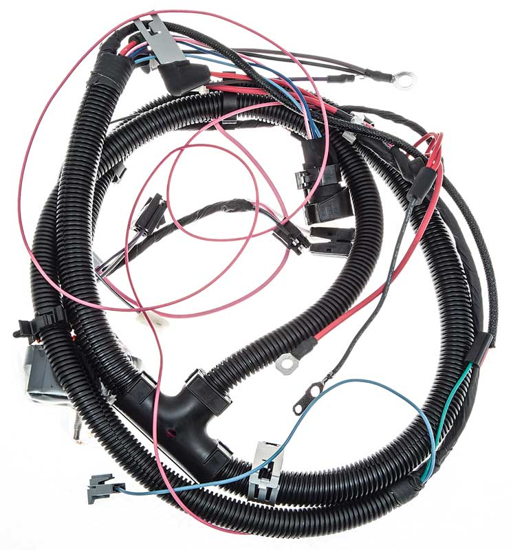 gm truck parts electrical and wiring wiring and connectors 1979 80 chevrolet truck 250ci 6 cylinder engine wiring harness