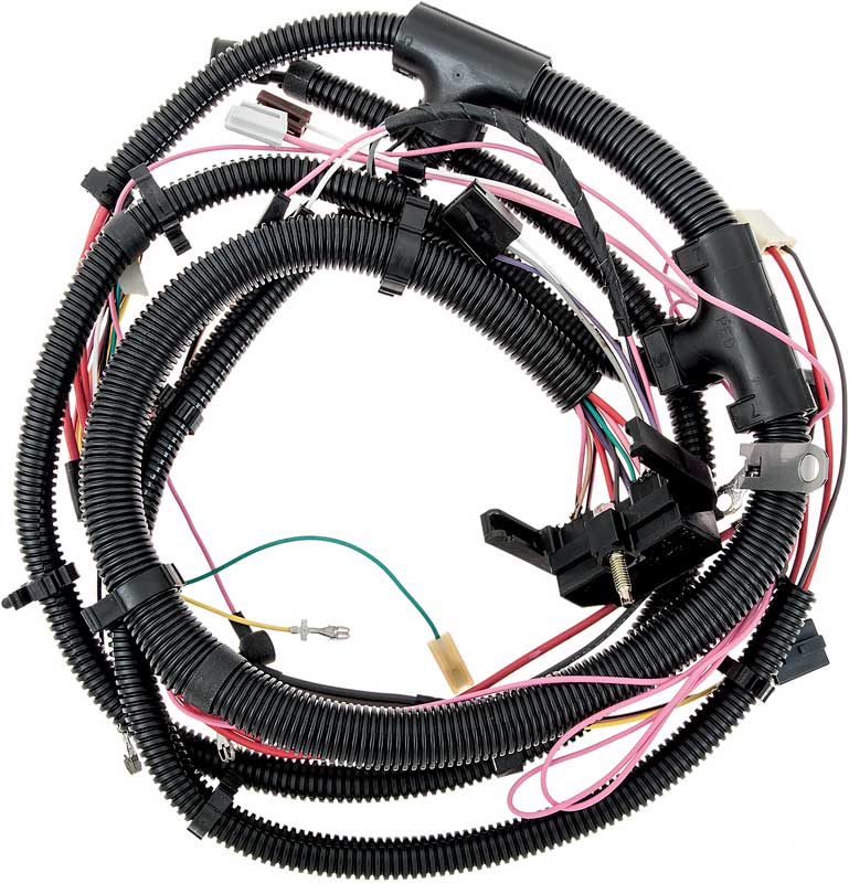gm truck parts electrical and wiring classic industries 1981 chevrolet truck 454 v8 engine wiring harness