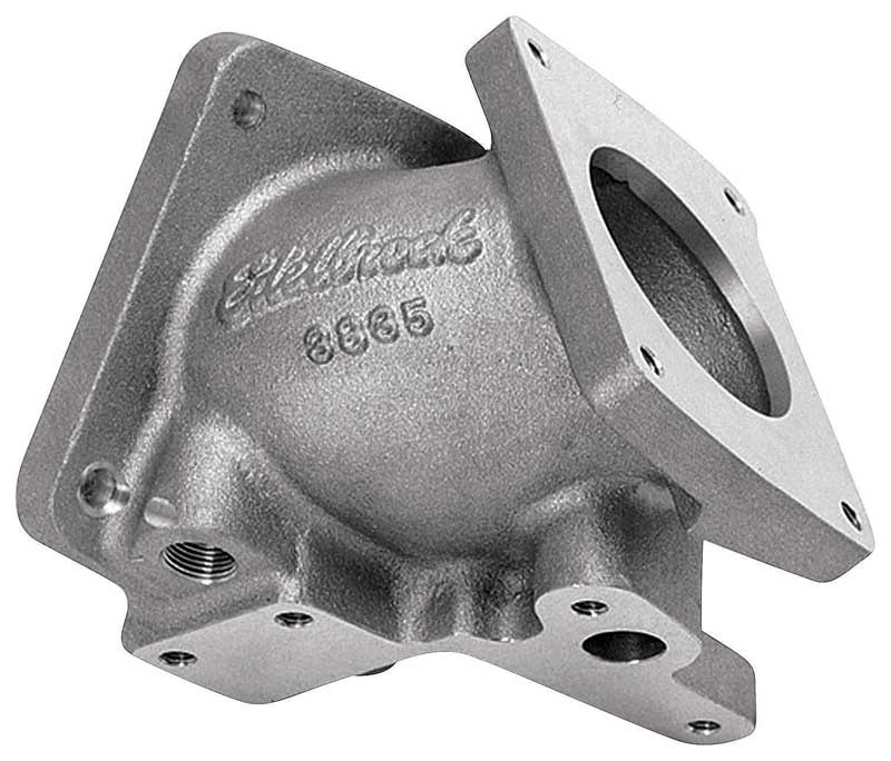 1994-1995 All Makes All Models Parts | EDL3835 | Edelbrock Throttle Body  Adapter with Titanium Finisg | Classic Industries