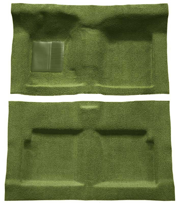 1961-64 GM B Body Mass Backed Molded Carpet for Automatic Transmission