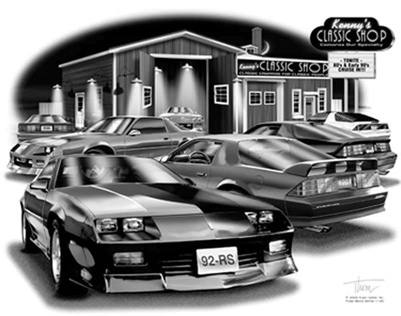 Chevrolet camaro parts lifestyle products home and for Classic house 1992