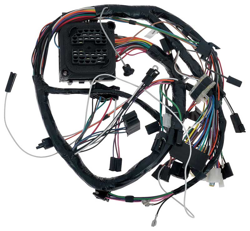 FB50775 1975 pontiac firebird parts electrical and wiring wiring and