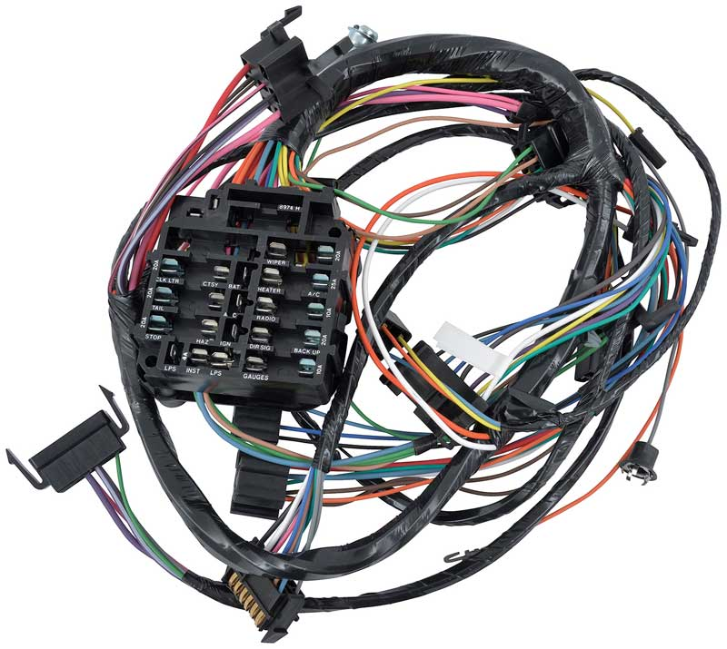1987 firebird wiring harness firebird parts | electrical and wiring | wiring and ...