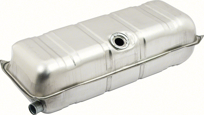 Fuel Tank Steel Silver For Biscayne 61-64
