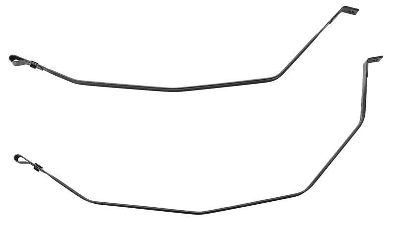 Fuel Gas Tank Straps Pair Set for Ford Thunderbird Lincoln Mercury Cougar