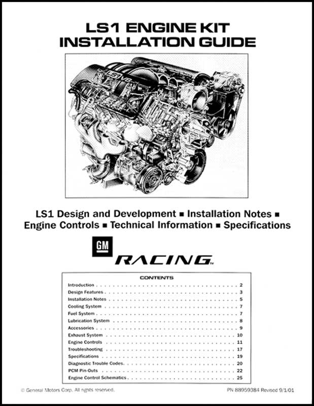 1930-2012 All Makes All Models Parts | G11810 | LS1 Engine KitClassic Industries