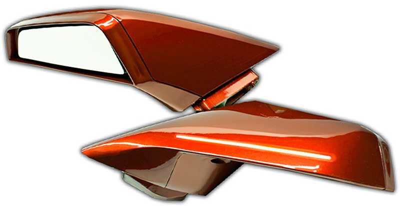 2010 15 Camaro Inferno Orange Paint Code Gcr Ghosted Led Dual Intensity Concept Side Mirrors