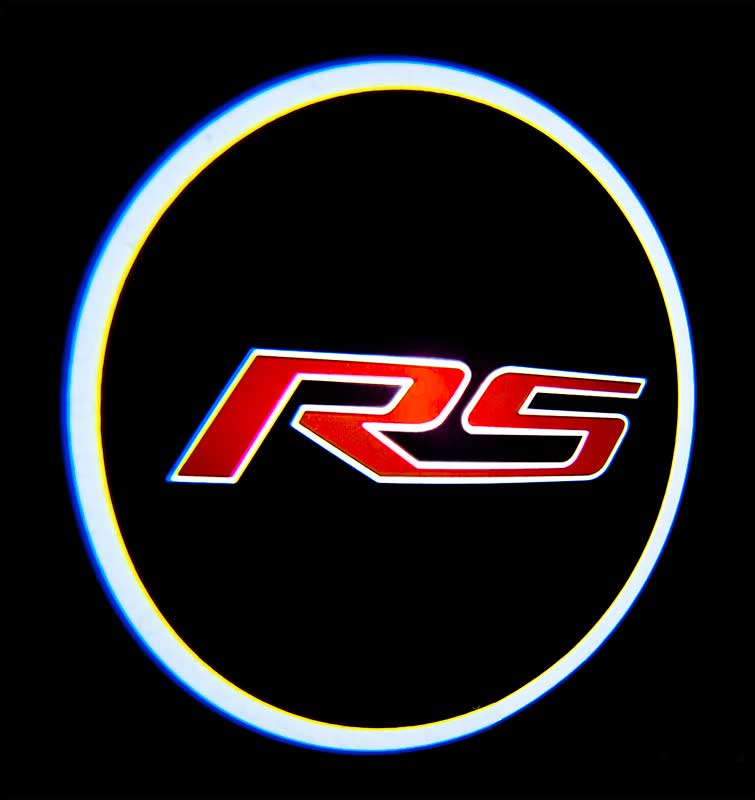 2010-2016 All Makes All Models Parts | GF820513 | 2010-17 Camaro Custom LED  Door Light Projector with RS Logo (Pair) | Classic Industries