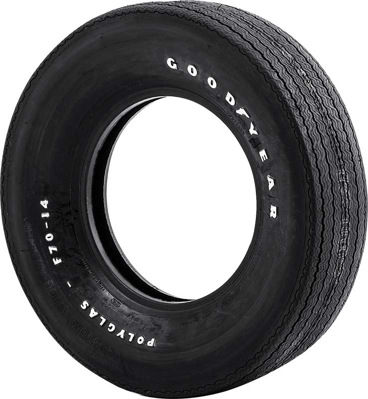 1930 2007 all makes all models parts gyf7014 f70 14 for Goodyear white letter tires for sale