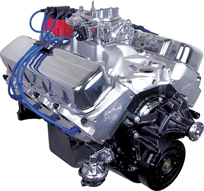 1930-2016 All Makes All Models Parts   HP411PC   ATK Stage Three 489CI /  565HP Stroker V8 Crate Engine   Classic Industries
