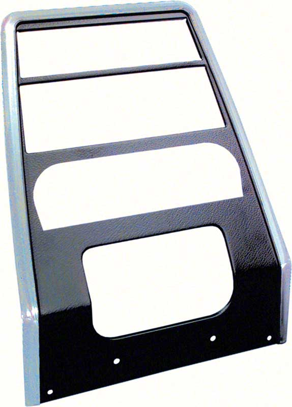 Dash Assembly Carrier 1967 1968 Camaro Firebird Replacement Black and Chrome