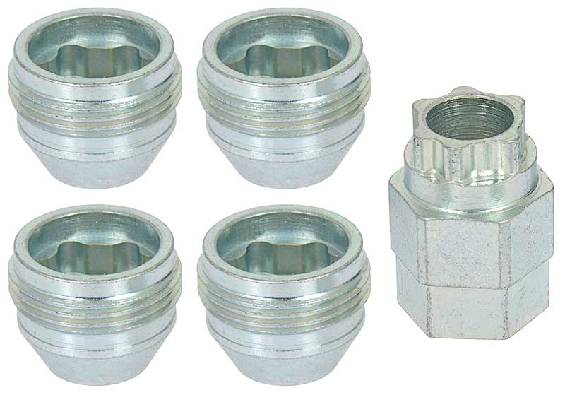 Lug Nuts GM OEM style 1//2 with External Threads Set of 20 Pcs