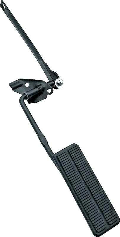 Billet Specialties 199165 Black Anodized 67-69 Camaro Polished Gas Pedal Assembly