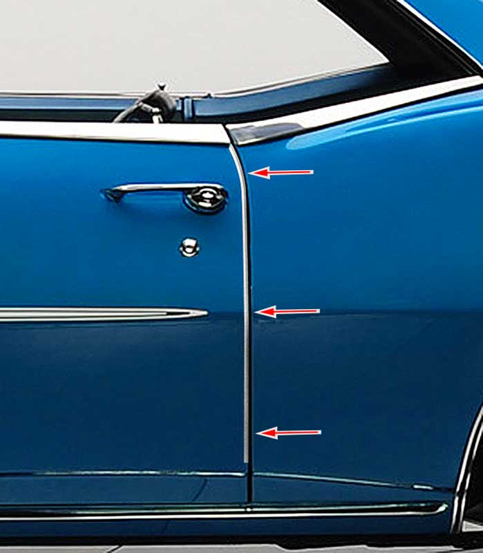 1967 Chevrolet Camaro Parts Exterior Trim Moldings