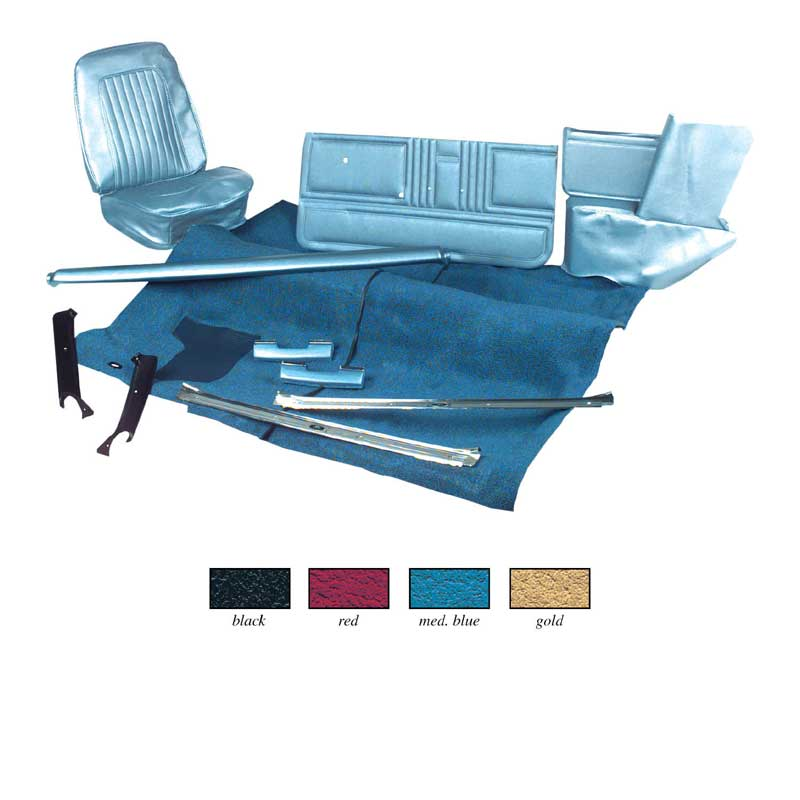1968 chevrolet camaro parts interior soft goods interior upholstery kits complete. Black Bedroom Furniture Sets. Home Design Ideas