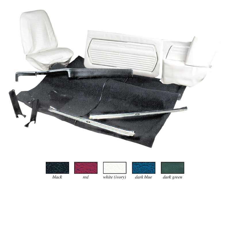 1969 camaro parts interior soft goods interior upholstery kits classic industries. Black Bedroom Furniture Sets. Home Design Ideas
