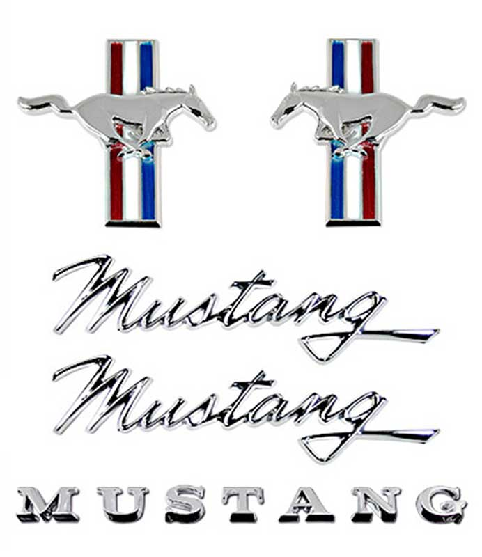 Mustang Fender Hatch Emblem Svo 1984 1986: 1968 Ford Mustang Parts