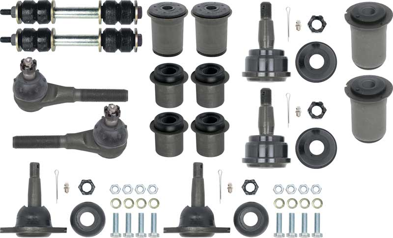 1967 All Makes All Models Parts   *F45337   1967 Firebird Front End Rebuild  Kit (W/O Inner Tie Rods)   Classic Industries