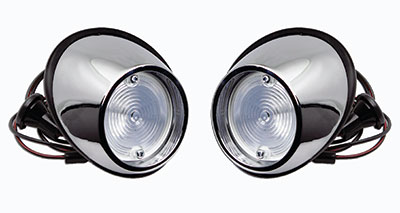 RH AND LH BACK UP LAMP ASSEMBLIES 65-66 MUSTANG BACK UP LIGHT KIT