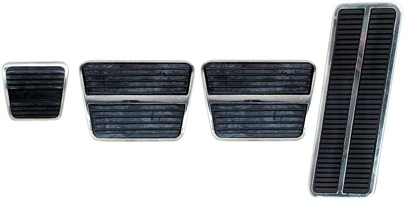 Camaro Brake Pedal Pad For Cars With Front Disc Brakes /& Automatic Transmission Ecklers Premier Quality Products 33-179338
