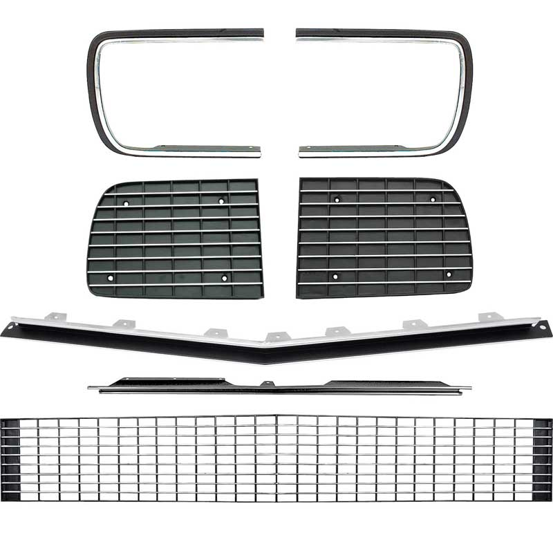 GM Licensed Reproduction For RS Grille 1967-68 Camaro SS Front Grille Emblem