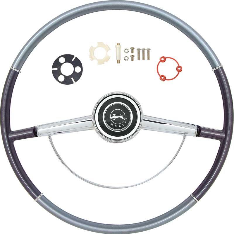 64 Chevrolet 1964 Chevy Impala Horn Ring Button Emblem