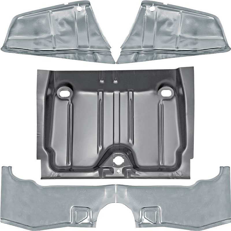 1967 pontiac firebird parts body panels trunk pans for 1967 camaro floor pan replacement