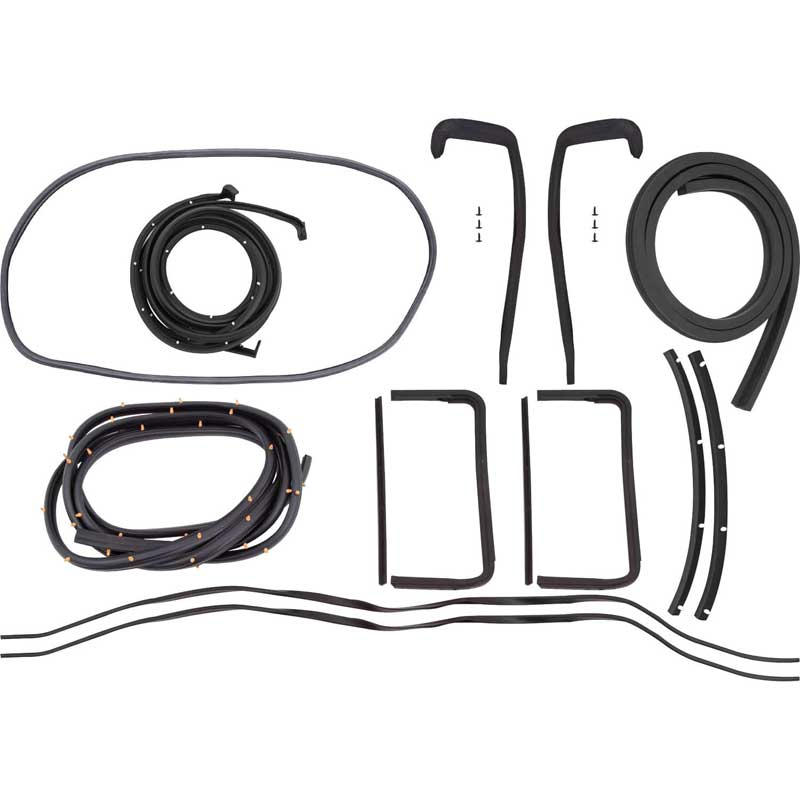 chevy weatherstrip kit 2 door hardtop or convertible
