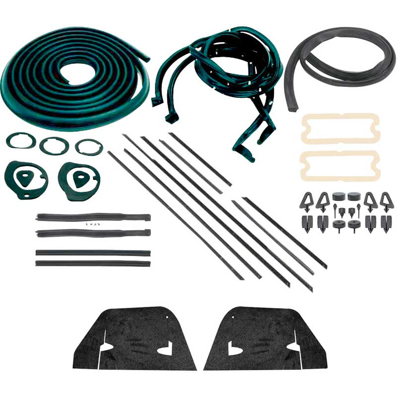 1964 lincoln continental weatherstripping kit 1964 65. Black Bedroom Furniture Sets. Home Design Ideas