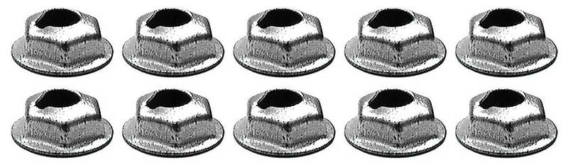 """1-5//8/"""" molding 10pcs Ford Mercury steel push in trim  moulding clips 1-1//2/"""""""