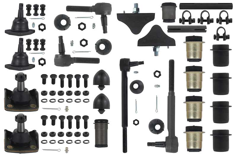 1955 1956 1957 CHEVY FRONT END SUSPENSION CONTROL ARM  HARDWARE FASTENER KIT USA