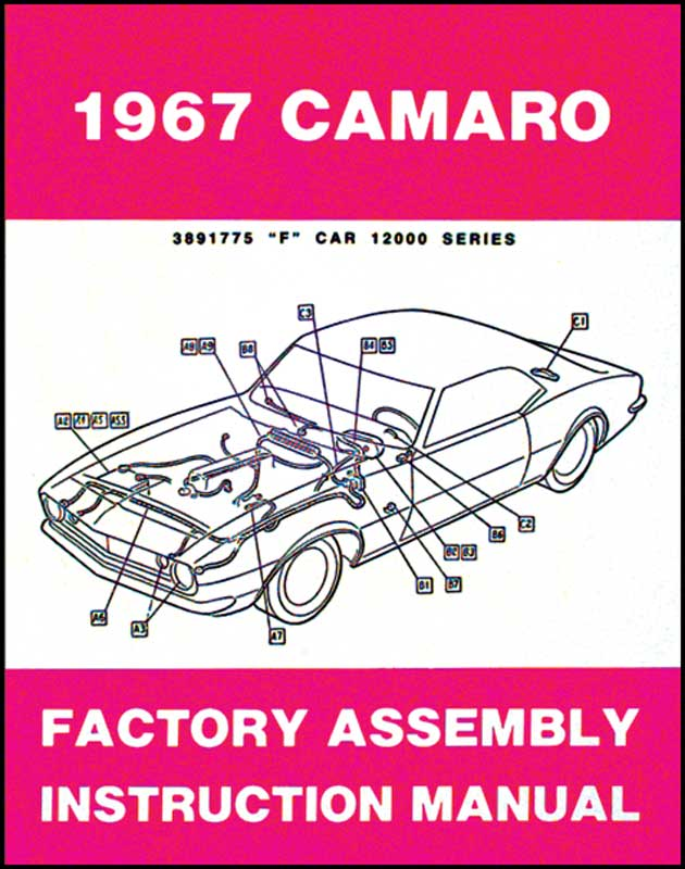 1967 all makes all models parts l1067 1967 camaro assembly rh classicindustries com Manual Transmission Camaro Service Manual