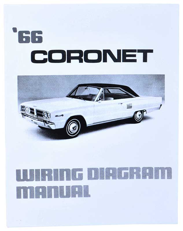 1966 dodge coronet parts literature, multimedia literature 1966 Dodge Coronet Starter Wiring Diagram