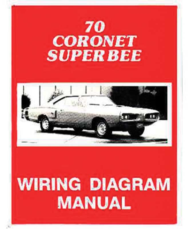 L1234 dodge coronet parts literature, multimedia literature wiring 1970 dodge coronet wiring diagram at alyssarenee.co