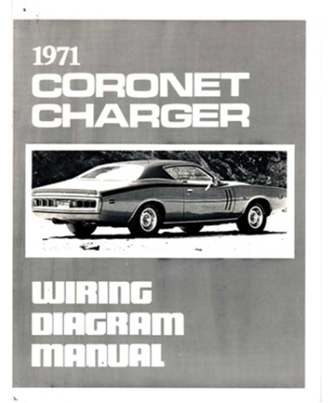 1971 Dodge All Models Parts Literature Multimedia – Dodge Challenger Wiring Schematic