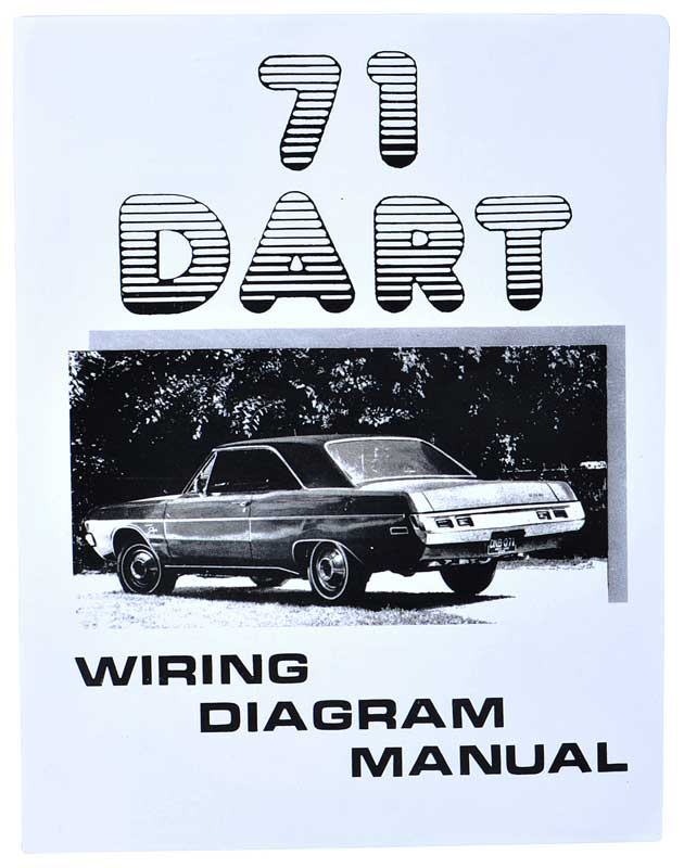 L1238 1971 dodge all models parts literature, multimedia literature 1971 dodge dart wiring diagram at bayanpartner.co