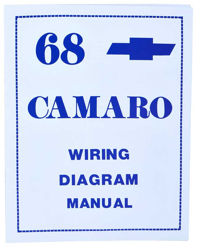 L3468 1968 chevrolet camaro parts literature, multimedia literature 68 camaro wiring diagram at bayanpartner.co